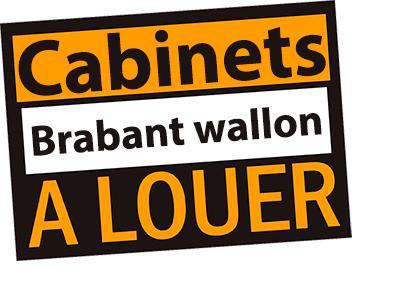 Cabinet à louer en Brabant wallon